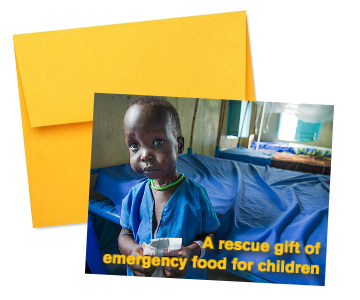 give emergency food for children